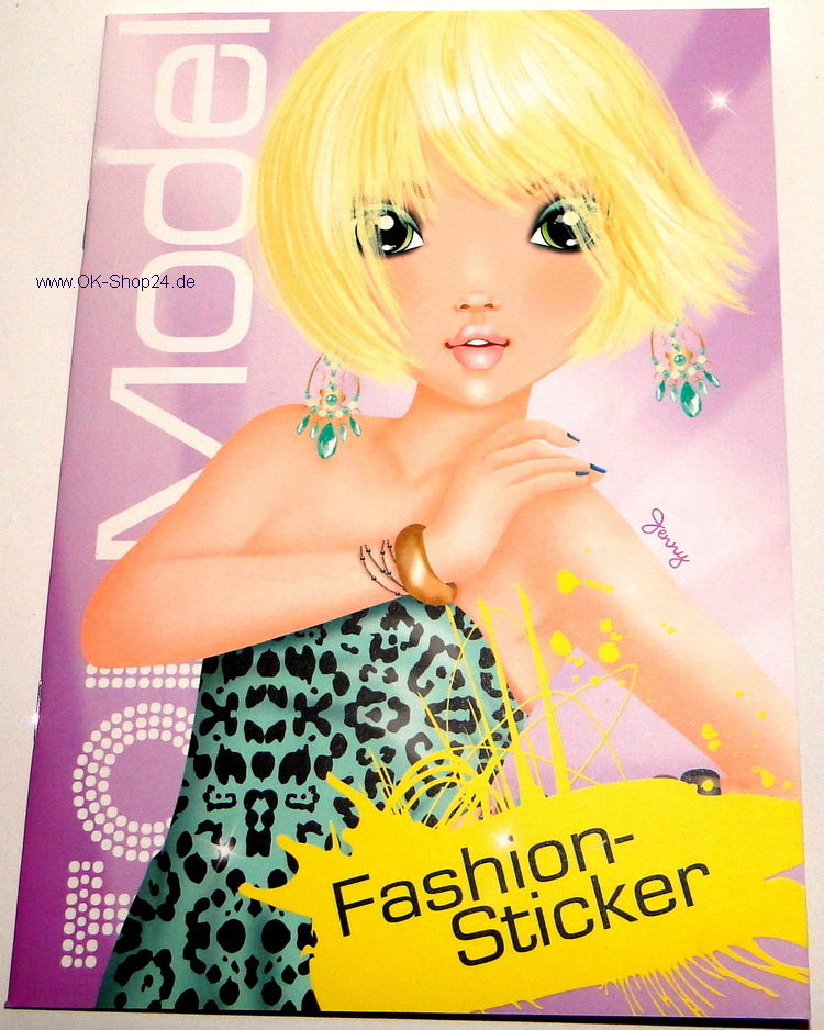 topmodel fashion f r malbuch stickerheft 7862 b ok shop24. Black Bedroom Furniture Sets. Home Design Ideas