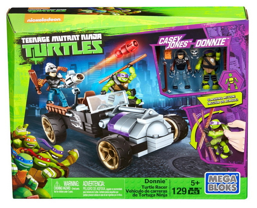Mega Bloks Teenage Mutant Ninja Turtles Donnies Racer