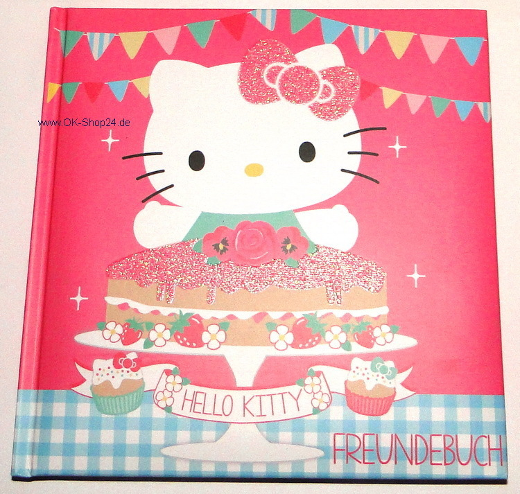 Hello Kitty Tea Party Freundebuch