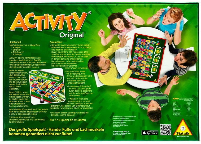 Activity Gesellschaftsspiel