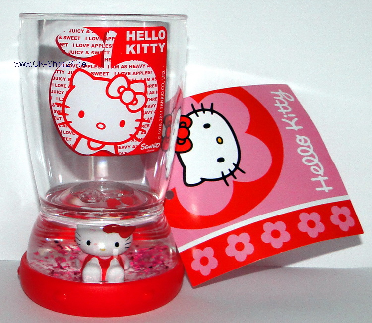 Hello Kitty Apple 3D Becher Kinderbecher