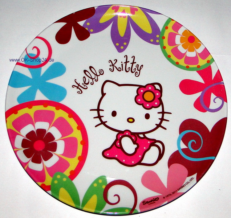 Hello Kitty Bamboo Teller Kinderteller