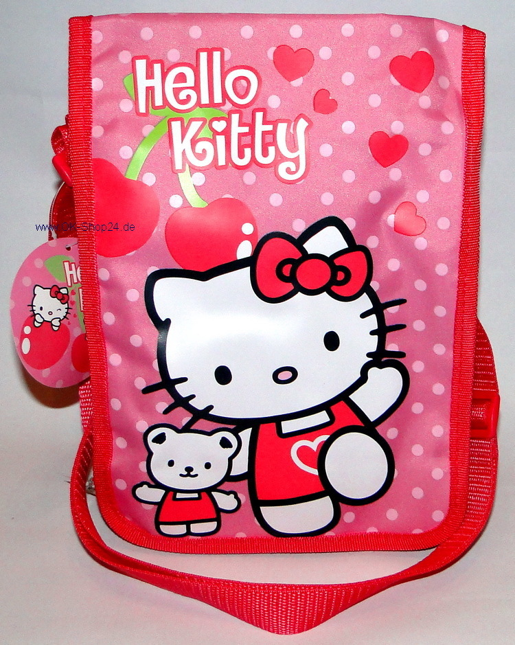 Hello Kitty Cherries Tasche Schultertasche Bag
