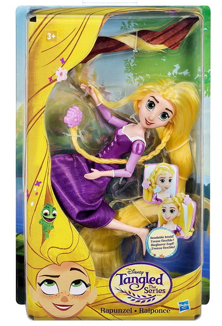 Hasbro C1747 Disney Rapunzel Tangled the Series Puppe