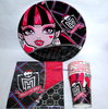 36 tlg Monster High Party Set Kindergeburtstag