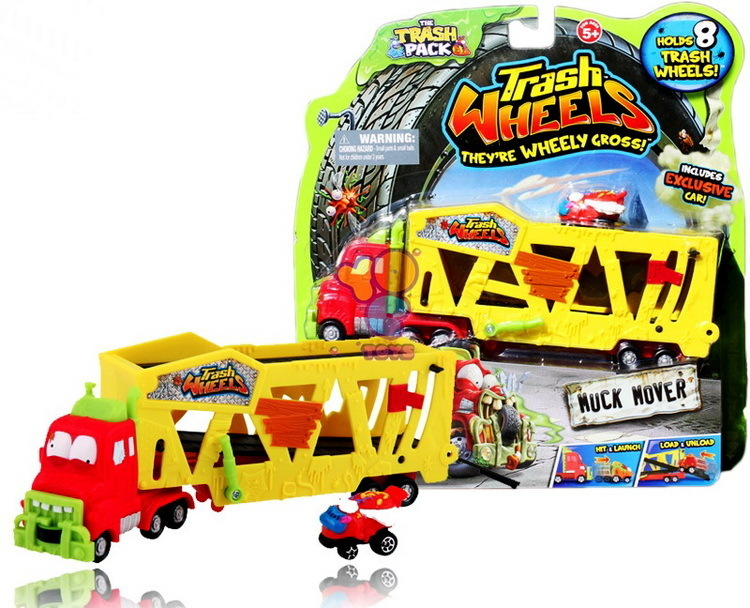 Giochi Preziosi Trash Pack Wheels Autotransporter
